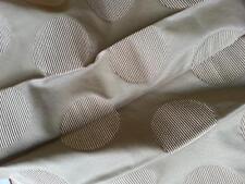 CESARI tessuto stoffa scampolo FIL COUPE' misto cotone design BROOKLYN palle