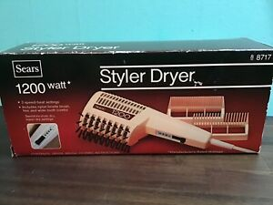 Vintage Sears 1200 Styler Dryer 8717