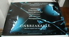 Rolled Unbreakable 30 x 40 Uk Movie Poster Bruce Willis Samuel L Jackson