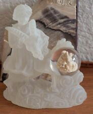 Frosted Astrological Figurine Aries, Cancer Sagittarius and Aquarius