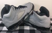 Nike Air Jordan 5 V Retro Wolf Grey Black Size 6.5 Rare Vintage