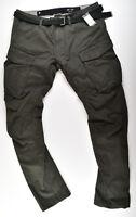 G-STAR RAW, Rovic Qane Belt 3D Tapered, Cargohose Jeans W34 L34