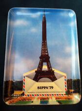 "RARE PLATEAU COLLECTOR "" TOUR EIFFEL "" SIPPA 1979"