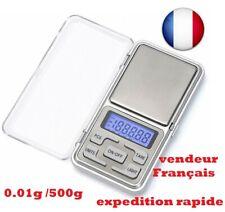 Mini Digital Balance poche électronique de Précision 0.1-500 g Pèse Bijoux herbe