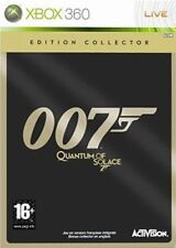 QUANTUM OF SOLACE XBOX 360 EDITION COLLECTOR BOITIER MÉTAL NEUF SOUS BLISTER VF