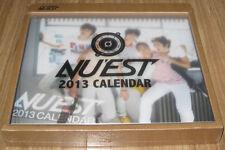 NU'EST 2013 OFFICIAL PHOTO CALENDAR + MAKING DVD SEALED