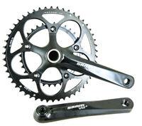 SRAM Via GT 10 Speed Compact 50/34 T GXP Double Road Bike Crankset 175mm NEW