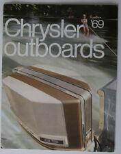CHRYSLER Outboards 1969 dealer brochure - French - Canada HS1002000418