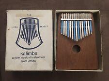ORIGINAL HUGH TRACEY KALIMBA ALTO 15 NOTE THUMB PIANO MUSICAL INSTRUMENT