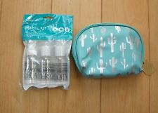 COSMETIC BAG AND TRAVEL KIT
