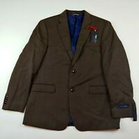 Tommy Hilfiger Men's Blazer Size 48R Suit THFlex Brown NWT