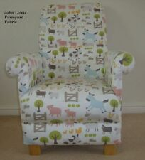 John Lewis Fabric Armchairs