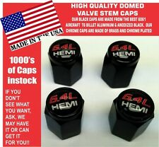 Domed Hemi Hellcat SRT Scat Pack 6.4L Valve Stem Caps Mopar Challenger Charger