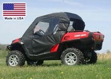 Doors and Rear Window for Can Am Commander - Zip Down Windows - Commercial Duty