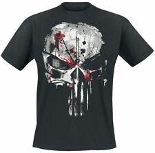 The Punisher Bloody Skull Männer T-Shirt schwarz