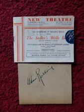 More details for ninette de valois / alexis rassine autographs -theatre programme