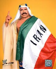 "WWE foto la IRON SHEIK 8x10"" ufficiale wrestling PROMO HALL OF FAME"