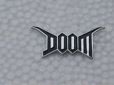 Doom Pin Badge Punk Hardcore Thrash Anarcho Crust Grindcore Police Bastard DBeat