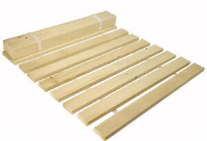 Replacement Bed Slats Solid Wooden Pine Bed Slats All Sizes - with Free delivery