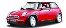 Bburago escala 1:18 Mini Cooper-Rojo 12034R (MIB)