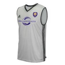 Orlando City SC MLS Adidas Men's Wordmark Onix Grey Climacool AdiZero Tank Top