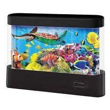 NEW Discovery Kids Animated Fish Marine Lamp, Night Light 360 degree animatedLED