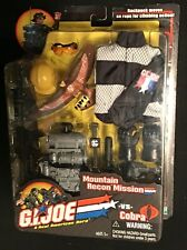 """2002 GI Joe VS Cobra Mountain Recon Mission Accessory Pack for 12"""" action figure"""