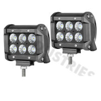 "2x4""INCH CREE LED Work Light Bar Flood Pods Off Road Fog Lights Pickup ATV Truck"