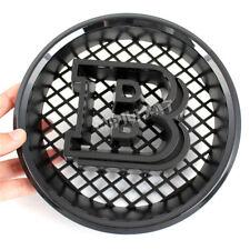 3D BRABUS Gloss Black B Front Grille Emblem for Benz G500 G550 G55 G63 G65 AMG