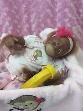 Reborn baby girl , monkey, Orangutan, 16 inches