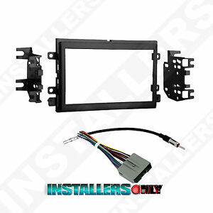 95-5812 Aftermarket Double-Din Radio Install Dash Kit & Wires Car Stereo Mount