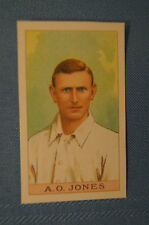 1912 Reeves Chocolates Cricket Prints by County Print 1993 - A.O. Jones.