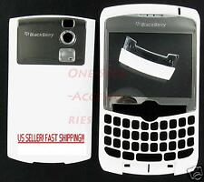 White Un-Branded RIM Blackberry Curve 8320 Housing Case