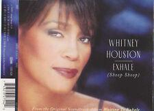 WHITNEY HOUSTON EXHALE (SHOOP SHOOP) CD SINGLE 3 TRACKS