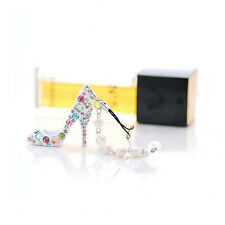 Handbag Holder Women Charming Key Ring Key Chain Crystal High Heel Shoe