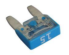10 fusibles 15A bleu mini 11.9mm 6V 12V 24V 36V pour auto moto voiture camion