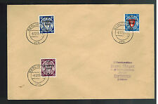 1939 Danzig Germany Cover to Waffen SS Franz Mayer 3rd Totenkopf Division Linz