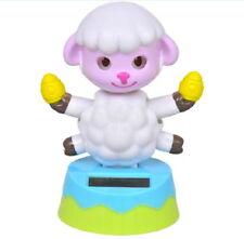 Solar Powered Dancing Lamb Flip Flap Swing Dancer Novelty Crazy Bobblehead Toy