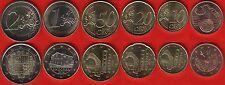 Andorra euro set (6 coins): 5 cents - 2 euro 2014 UNC