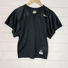 Nike Men's Short Sleeve Football Core Practice Mesh Black Jersey Size M