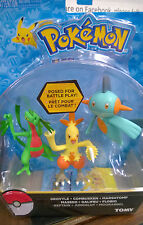 Pokemon Grovyle Combusken Marshtomp Figures  tomy new boxed