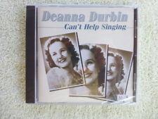 Deanna Durbin - Can't Help Singing - UK  CD Music & Memories  NEW / SEALED