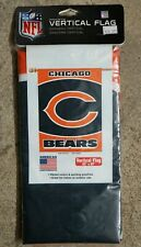"CHICAGO BEARS FOOTBALL VERTICAL FLAG 27"" X 37"" AMERICAN LOGO PRODUCTS, NEW!"