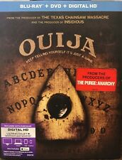 Ouija (Blu-ray/DVD, 2015, 2-Disc Set) With Slipcover NEW SEALED