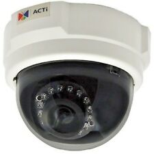 1 Megapixel Indoor Dome 3.6 mm Fixed Lens Camera (ACTi D54)(New Old Stock)A35
