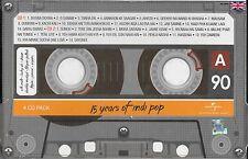 15 YEARS OF INDI POP - NEW ORIGINAL BOLLYWOOD 4 CDs SET