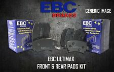EBC ULTIMAX FRONT + REAR BRAKE PADS KIT SET BRAKING PADS OE QUALITY PADKIT80