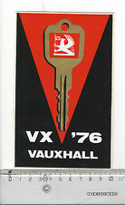 Decal/Sticker - Vauxhall VX '76 Car