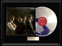 ROLLING STONES DEBUT UK DECCA ALBUM WHITE GOLD SILVER PLATINUM TONE RECORD LP
