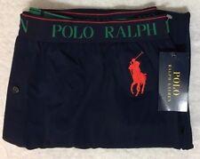 Polo Ralph Lauren Knit Sleep Shorts Small 28-30  Navy Blue w/Big Pony  (6004)